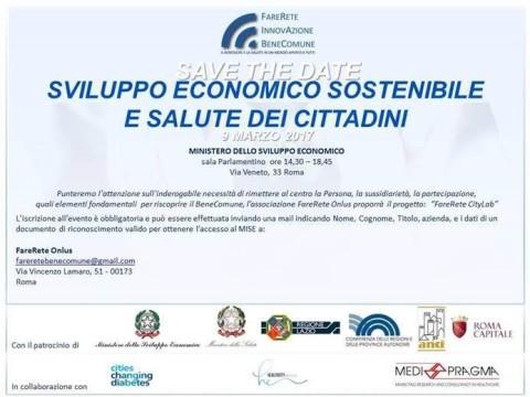 Sviluppo economico sostenibile e salute dei cittadini
