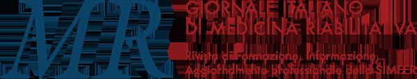 MR – Giornale Italiano di Medicina Riabilitativa