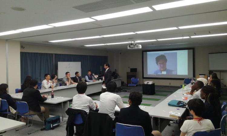 Figura 2 Assemblea generale inaugurale della Task Force (ISPRM, Kobe, giugno 2019)
