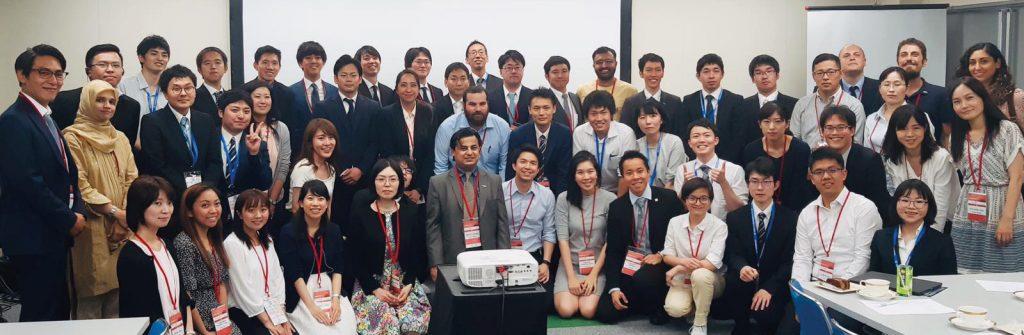 Figura 4 Partecipanti all'incontro organizzato dall'ISPRM Task Force –World Youth Forum in collaborazione con la Sezione Giovani della JARM
