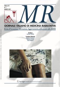 Medicina Riabilitativa –