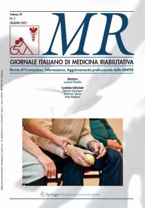 Medicina Riabilitativa –Volume 35 – N.1 – Marzo 2021